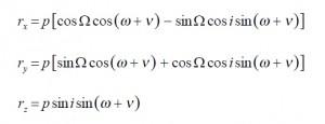 Position formulas