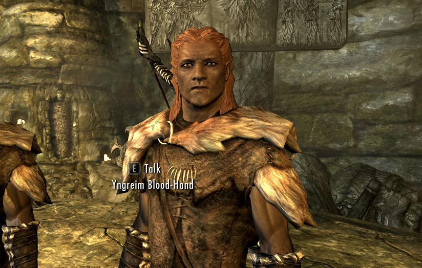 The Blood-Hand Hunter Family - Nord Male Followers at Skyrim